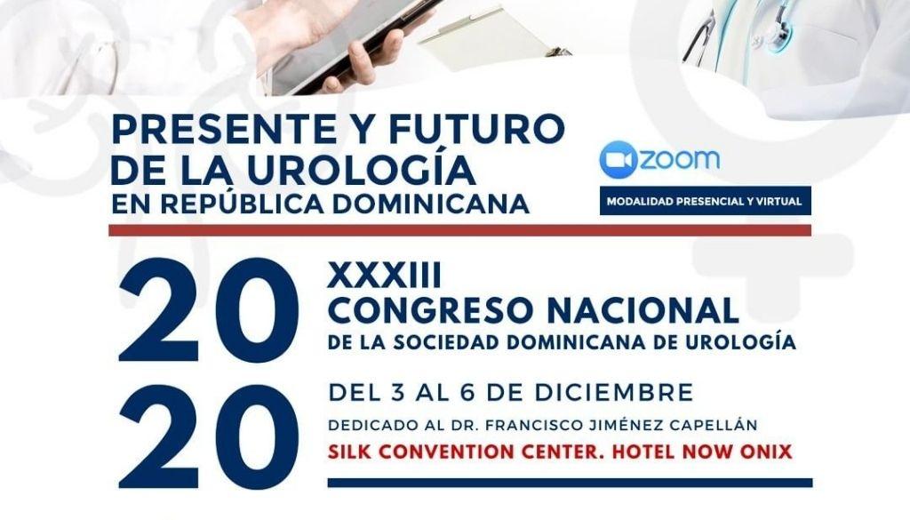 Sociedad Urología anuncia su 33 vo congreso nacional
