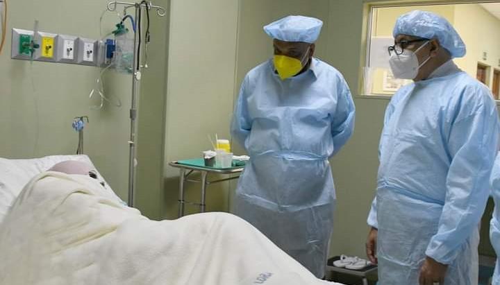Ministerio Salud asumirá responsabilidad de cirugías para joven quemada