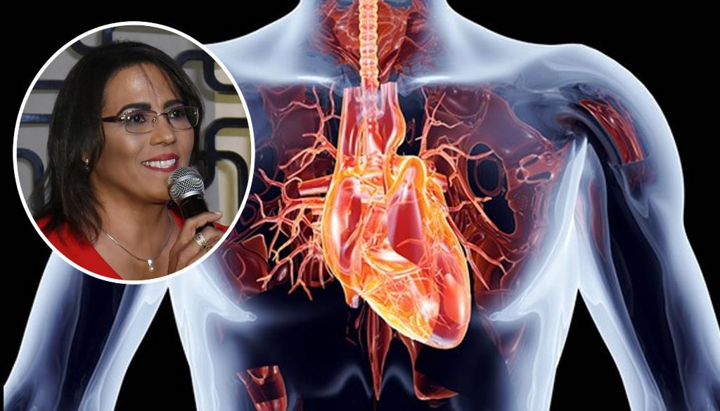 Doctora Rafaelina Concepción presenta propuesta para presidir Sociedad Cardiología