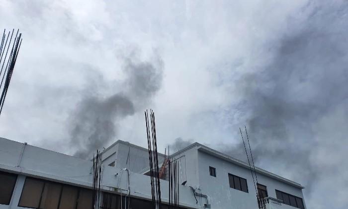 Incendio en Salud Pública, se desconocen las causas (VIDEO)