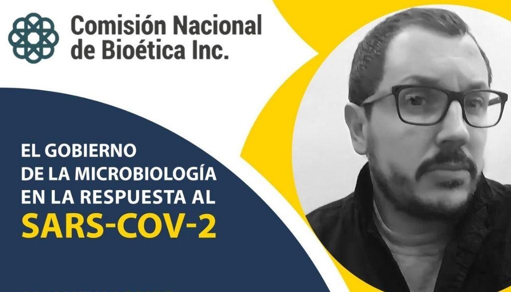 Analizarán el Gobierno de la microbiología en la respuesta al SARS-COV-2