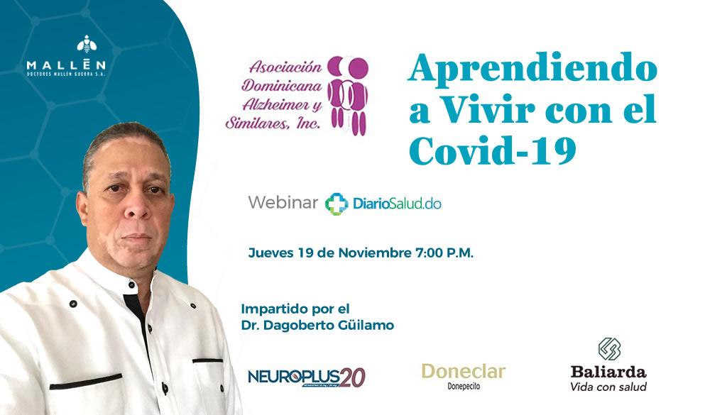 """Asociación Dominicana de Alzheimer realiza con éxito webinar """"Aprendiendo a vivir con el Covid-19"""""""