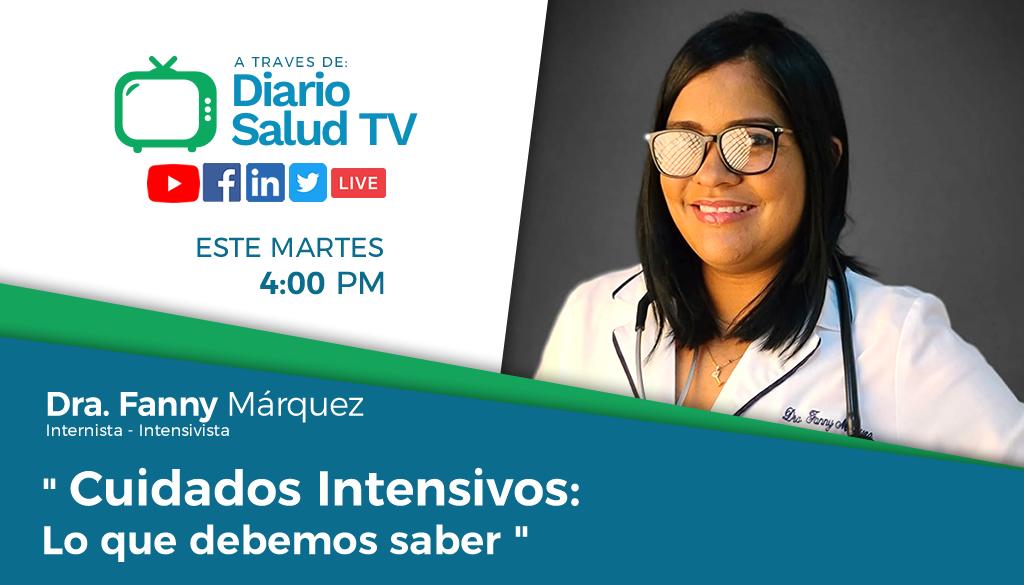 DiarioSalud TV  invita a programa sobre cuidados intensivos