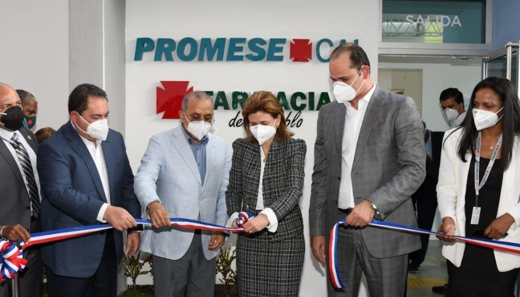 Inauguran Farmacia del Pueblo en Ciudad Sanitaria Luis E. Aybar