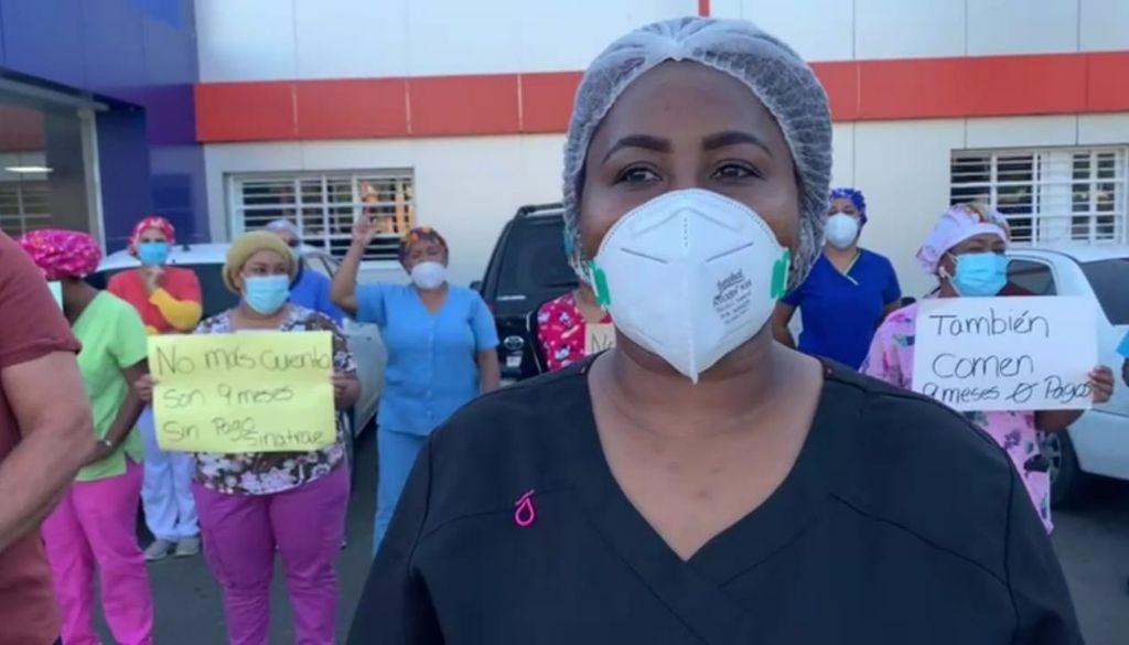 Personal Enfermería paraliza labores