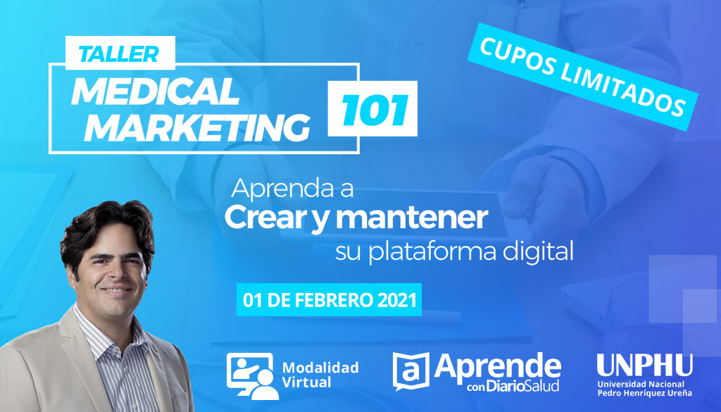 Taller Medical Marketing 101  inicia convocatoria de inscripción
