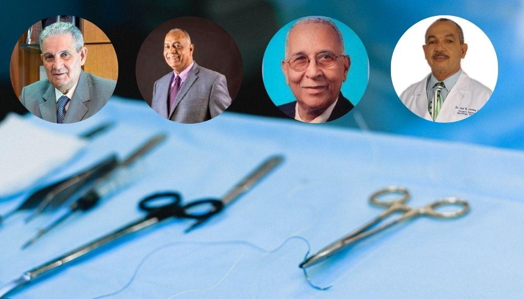 Reconocerán trayectoria de cirujanos dominicanos
