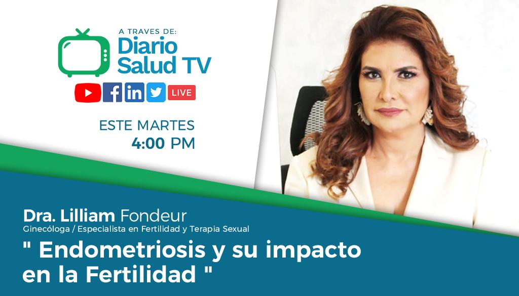 DiarioSalud TV invita a programa sobre endometriosis y fertilidad