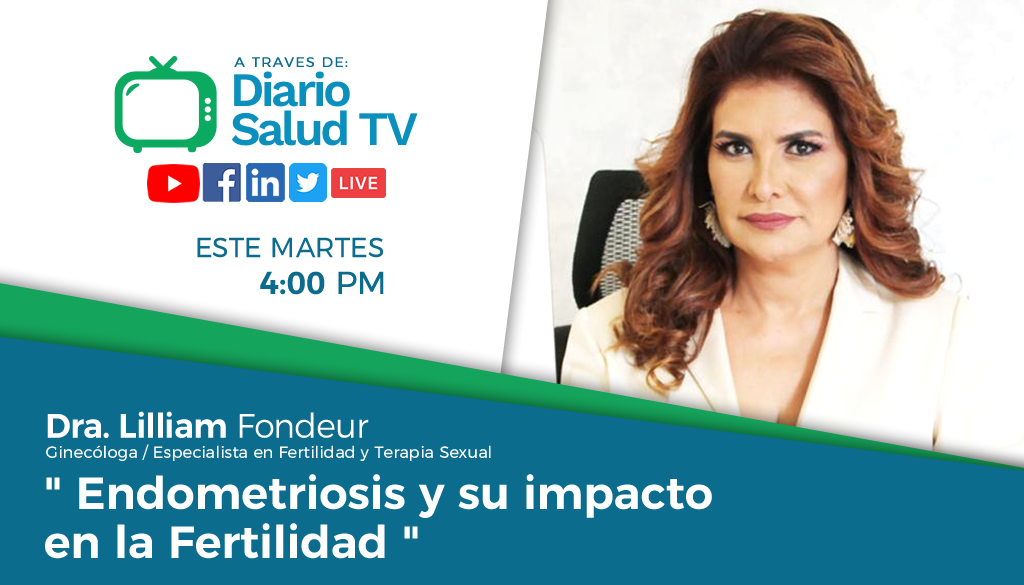 DiarioSalud TV invita a programa sobre endometriosis y fertilidad
