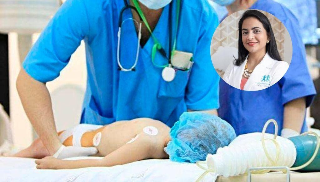 Doctora Elizabeth Mejía dirige Unidad Intensivo Pediátrico de Corazones Unidos
