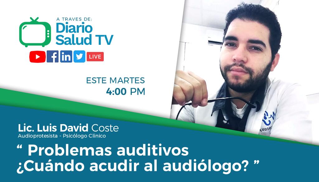 DiarioSalud TV invita a programa sobre problemas auditivos