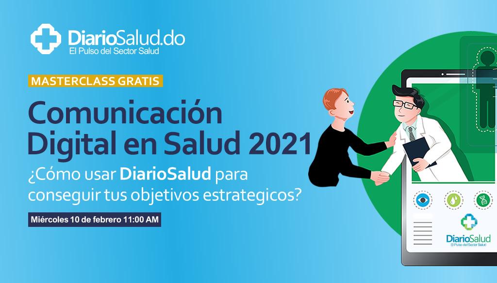 DiarioSalud invita al máster class Comunicación Digital en Salud 2021