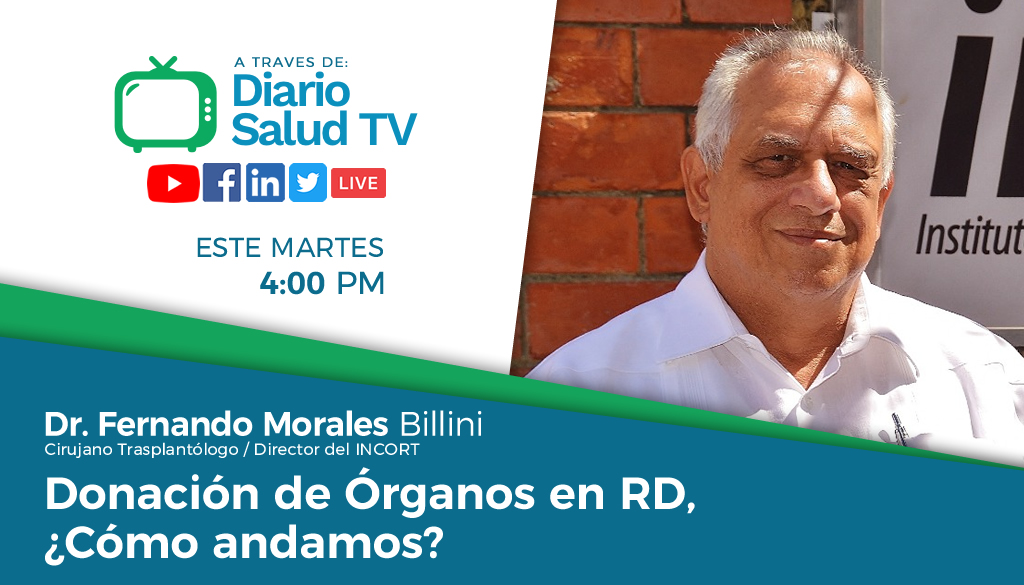 DiarioSalud TV invita a programa sobre donación de órganos