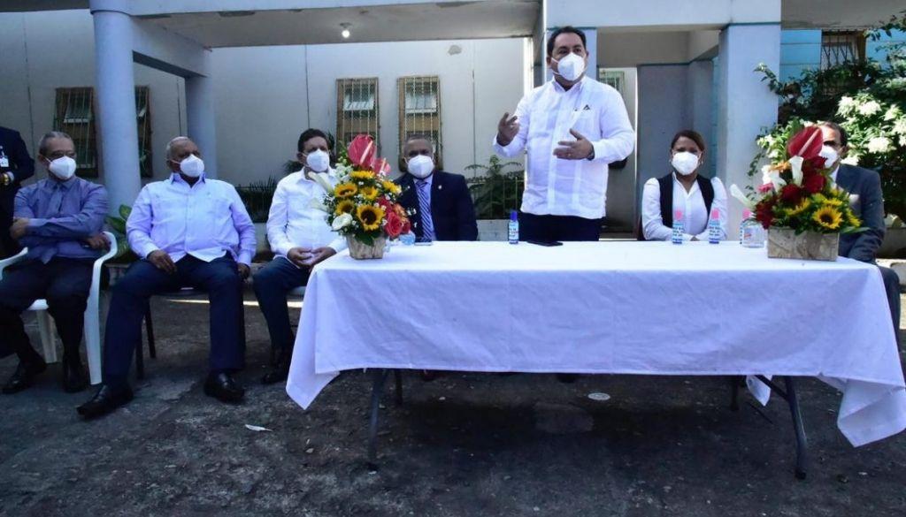 Entregan hospital para COVID-19