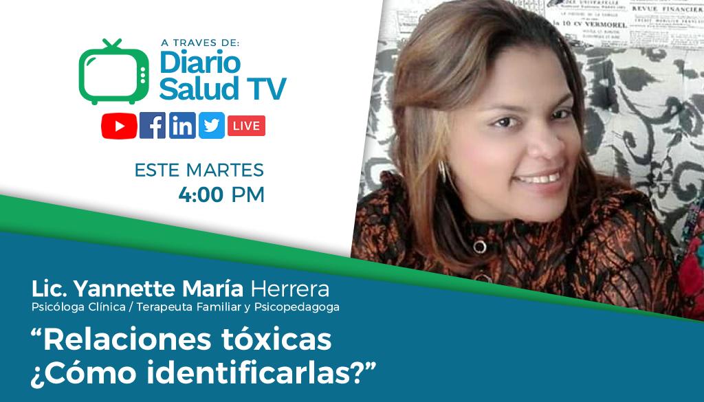DiarioSalud TV invita a programa sobre relaciones tóxicas