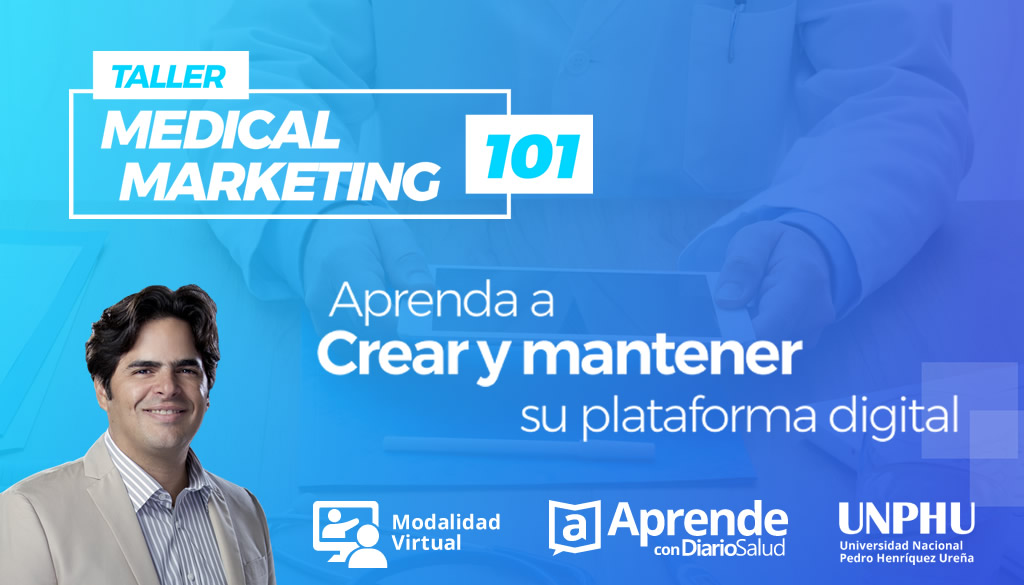 Taller Medical Marketing 101 dará inicio con sesiones EN VIVO sabatinas