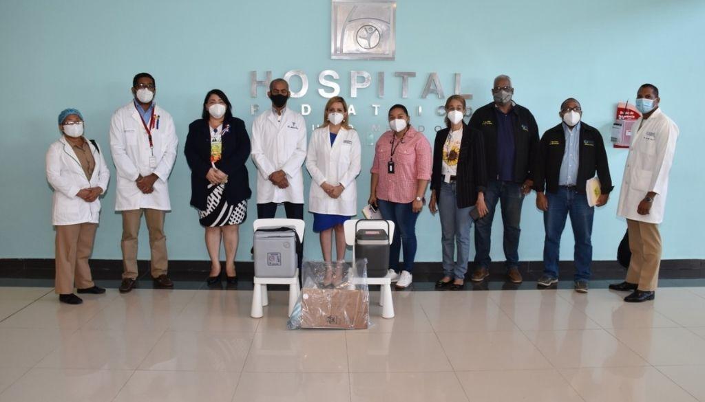 Hospital Hugo Mendoza inicia vacunación a personal de salud