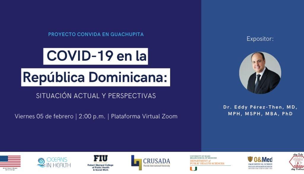 Abordan situación y perspectiva del COVID-19 en República Dominicana