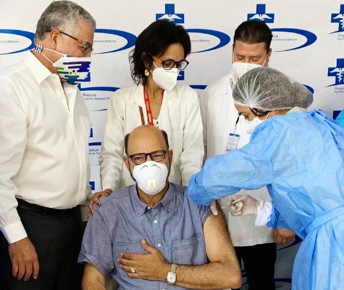 Grupo Rescue recibe sus primeras dosis de vacunas contra COVID-19