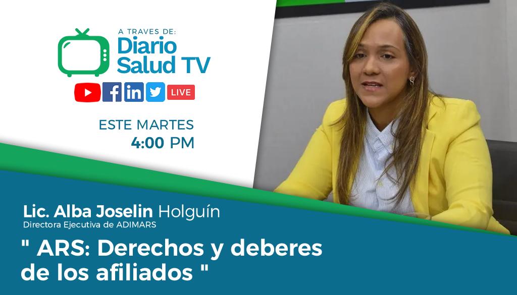 """DiarioSalud TV invita a programa """"ARS: Derechos y deberes de los afiliados"""""""