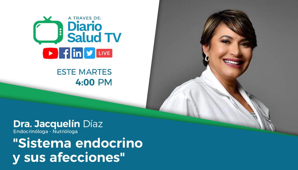 DiarioSalud TV invita a programa sobre sistema endocrino