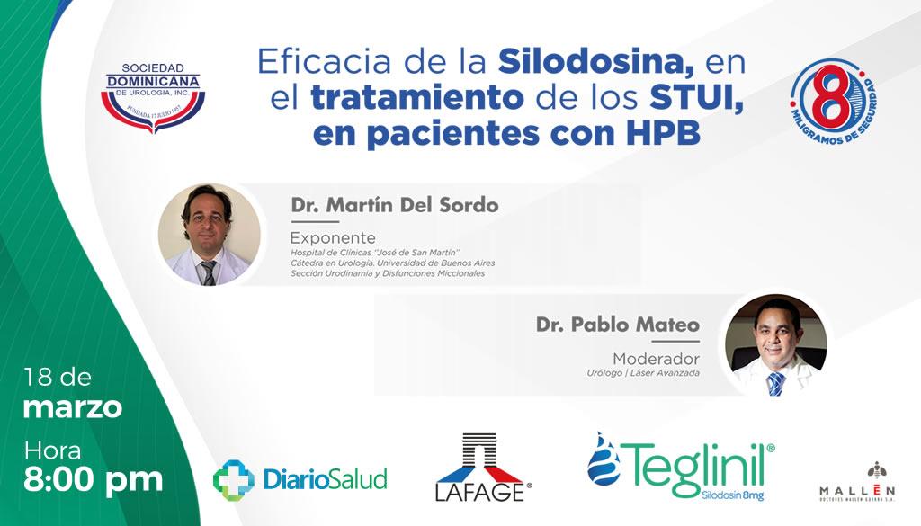 Sociedad Urología invita a webinar sobre eficacia de la Silodosina