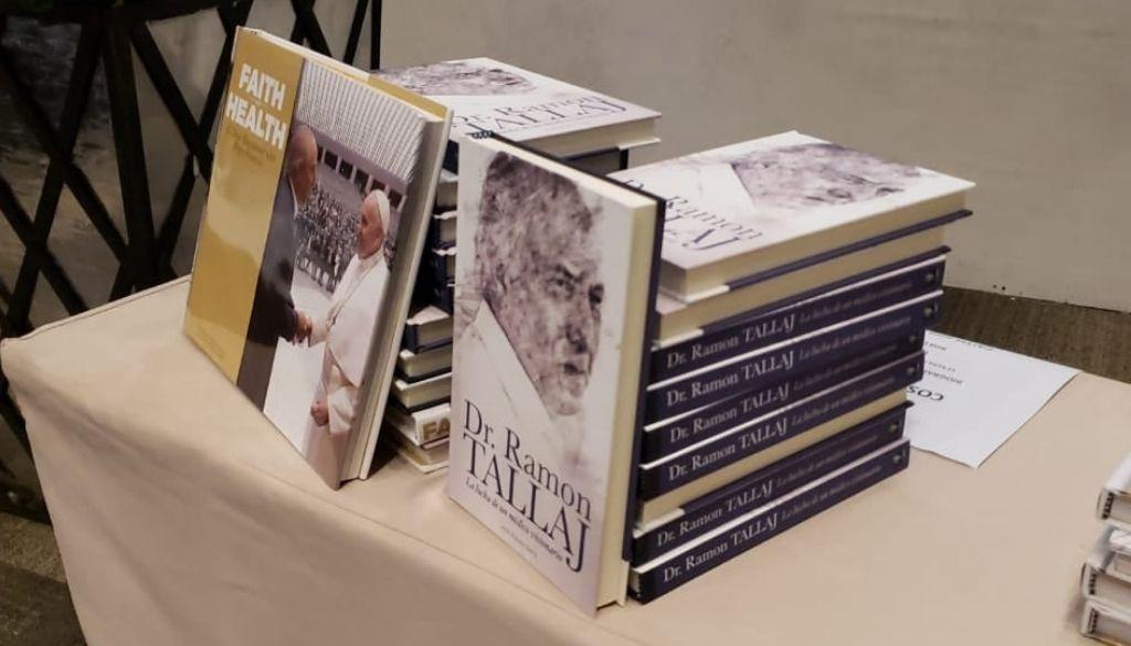 Ponen en circulación libros del Dr. Ramón Tallaj