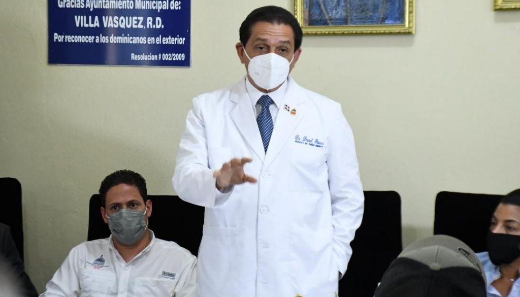 Gobierno anuncia construcción hospital en Villa Vásquez