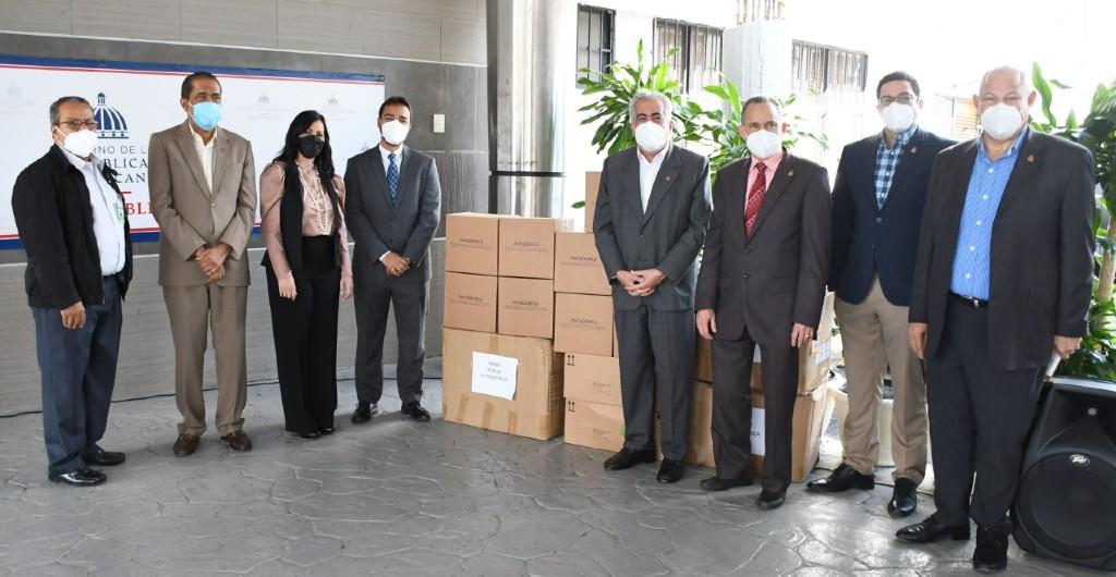 Salud Pública recibe donación de psicofármacos