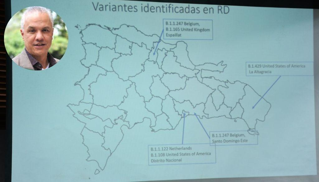 ¿Qué se sabe sobre las variantes de COVID-19 identificadas en el país?