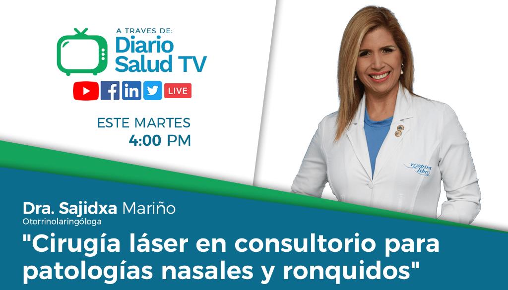 DiarioSalud TV invita a programa sobre cirugía láser en patologías nasales