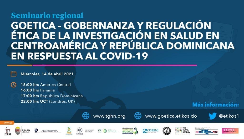 Presentan Seminario  sobre Gobernanza y Regulación Ética en Salud
