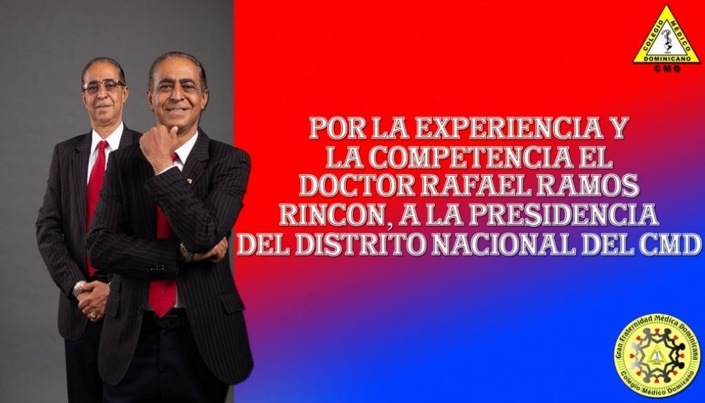 Doctor Rafael Ramos Rincón se postula a presidencia Regional del Distrito CMD