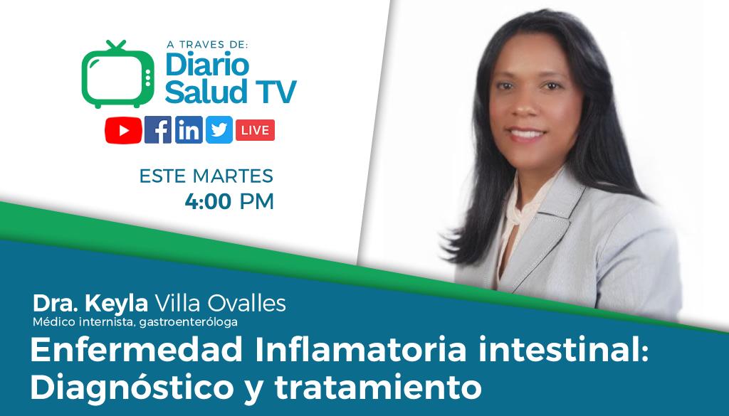 DiarioSalud TV invita a programa sobre enfermedad inflamatoria intestinal