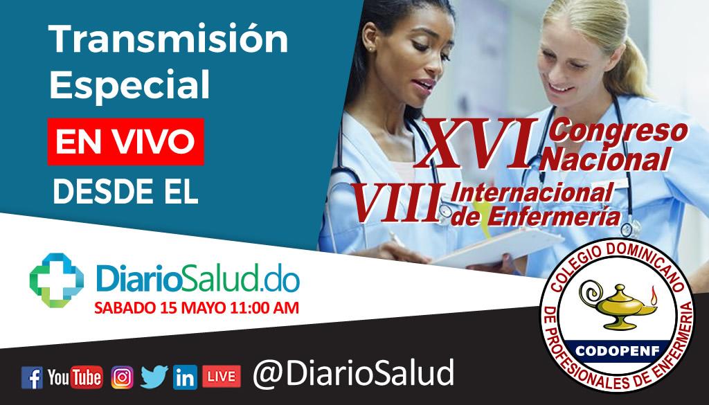 DiarioSalud transmitirá en vivo desde el congreso de enfermería