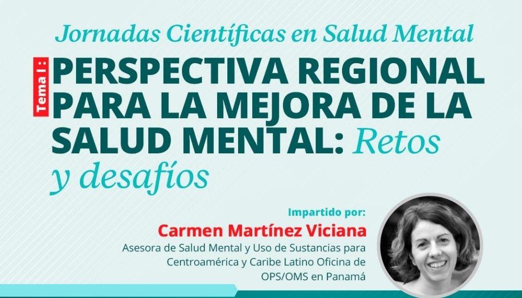 Analizarán perspectiva regional para mejorar salud mental