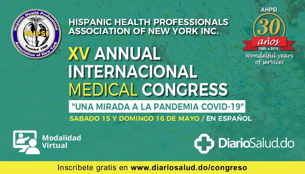Anuncian XV Congreso Anual de la Asociación Hispana de Profesionales de la Salud
