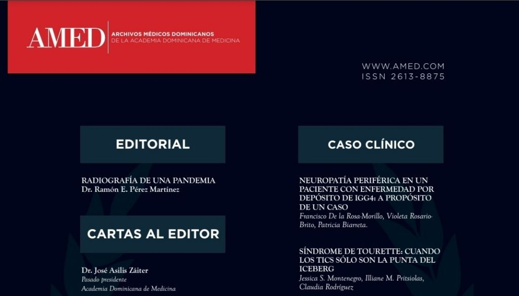 Ya está disponible la décima edición de la revista AMED