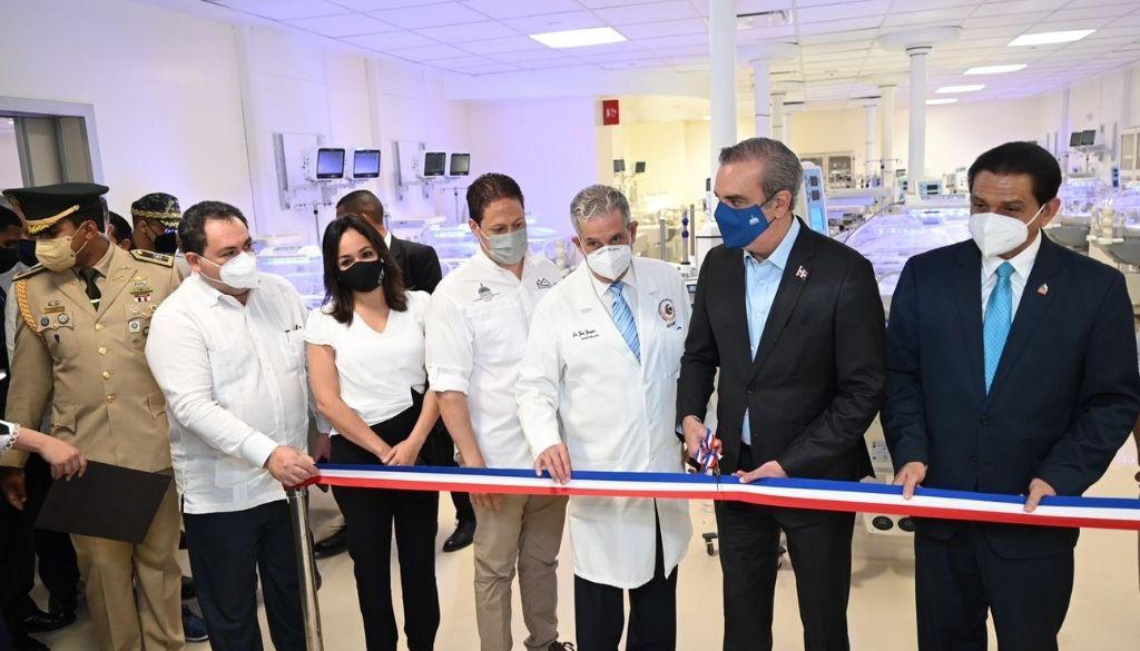 Inauguran áreas de la Ciudad Sanitaria Luis Eduardo Aybar