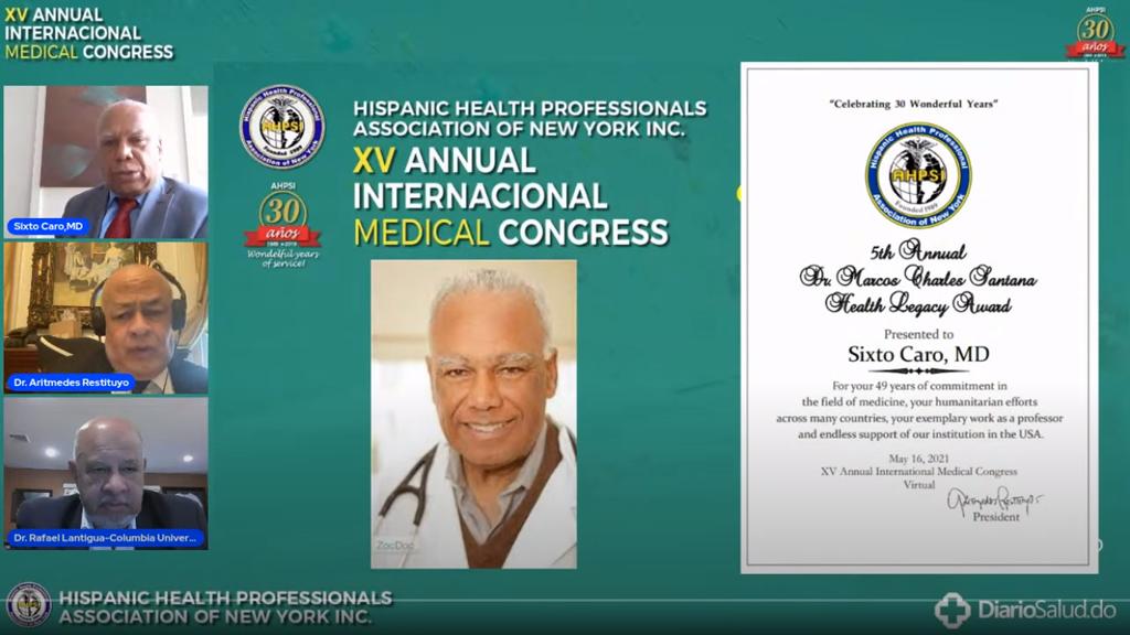 Concluye con participación masiva XV Congreso de la Asociación Hispana de Profesionales de la Salud