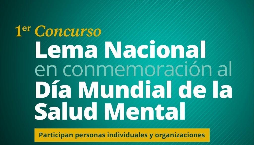 Convocan a concurso para elegir lema del Día Mundial de la Salud Mental