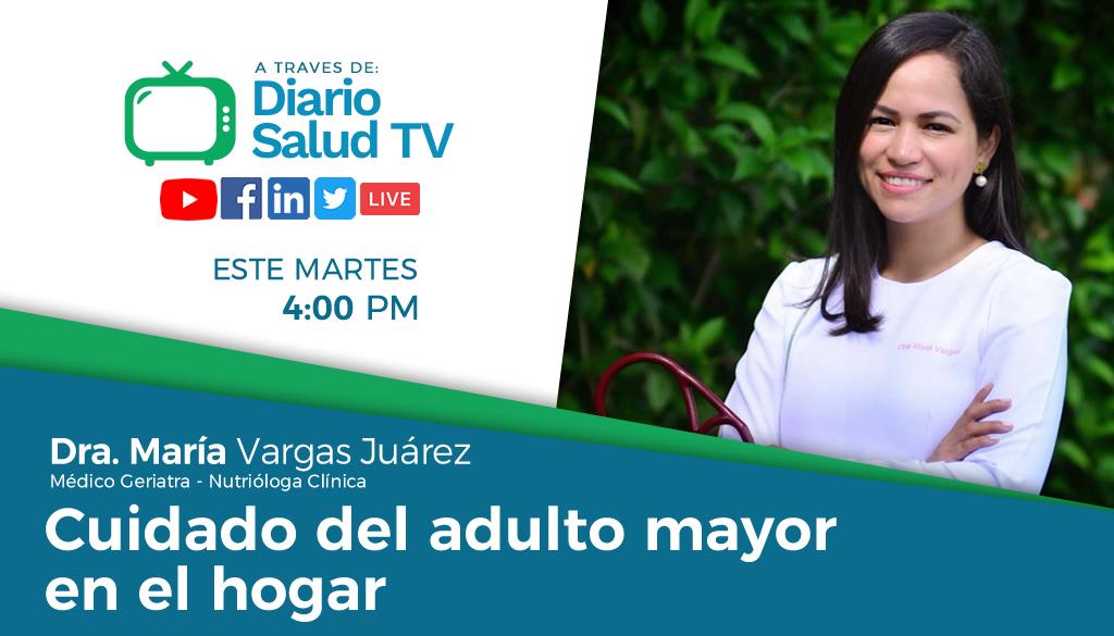 DiarioSalud TV invita a programa sobre cuidado del adulto mayor