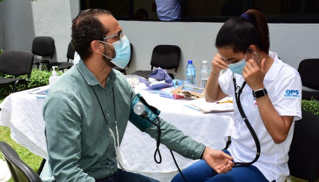 Realizan jornada de prevención de hipertensión arterial, diabetes y obesidad