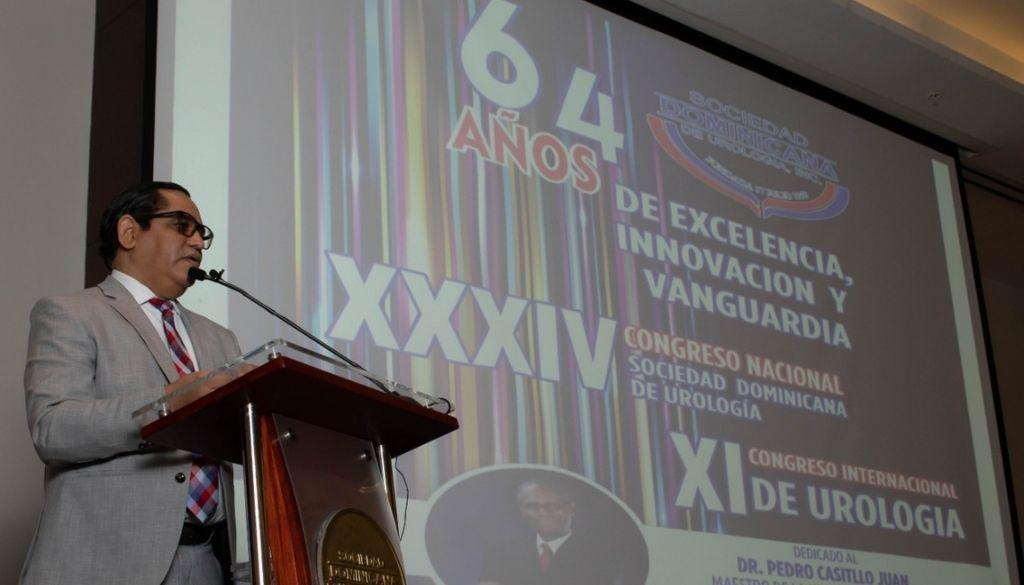 Sociedad Urología celebrará su 64 aniversario con XXXIV congreso nacional