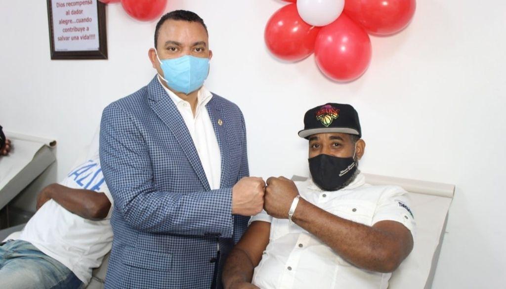Hospital Ney Arias desarrolla jornada de donación de sangre