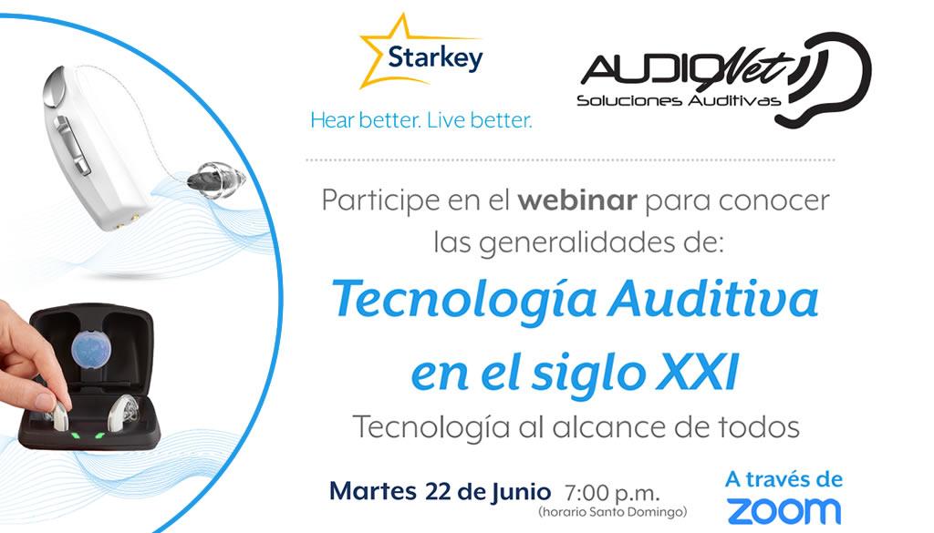 Audionet Soluciones Auditivas invita a webinar sobre tecnologías auditivas