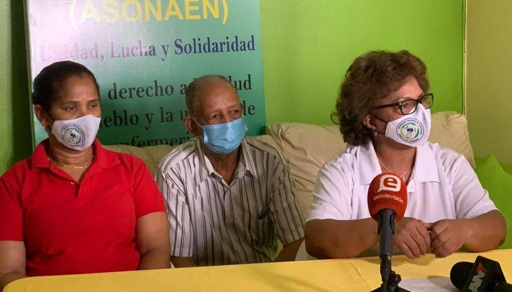 Enfermeras demandan presidente firme acuerdo con gremio
