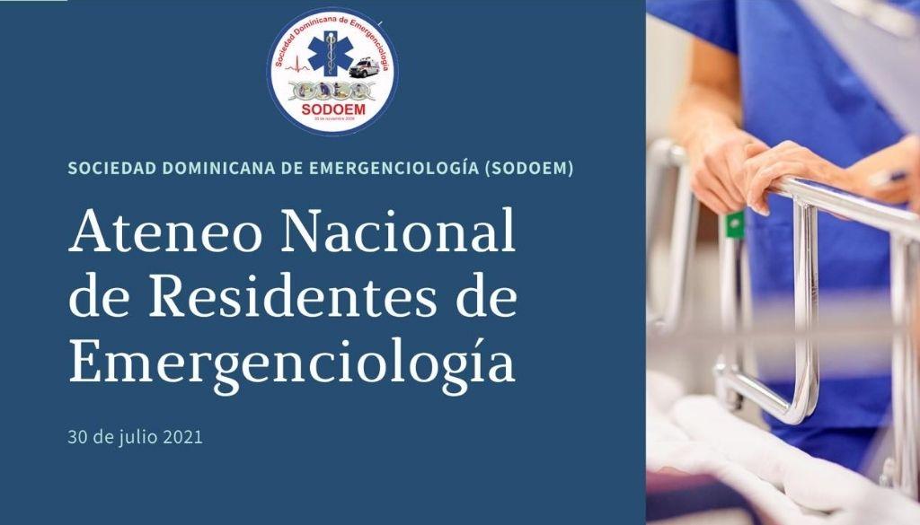 Realizarán Ateneo Nacional de Residentes de Emergenciología
