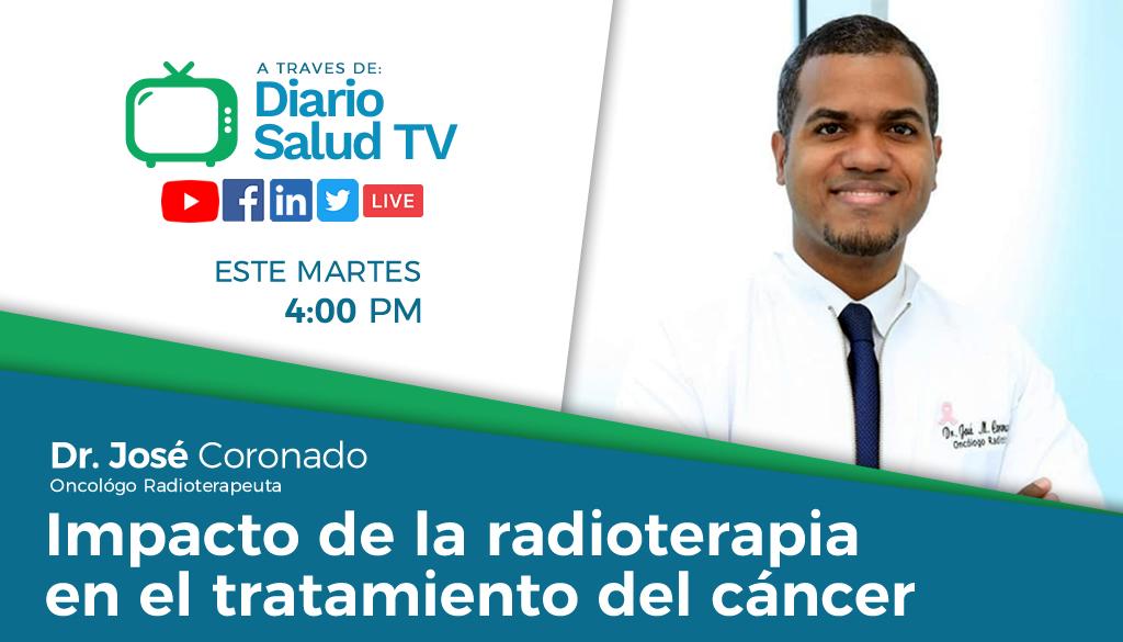 DiarioSalud TV invita a programa sobre radioterapia