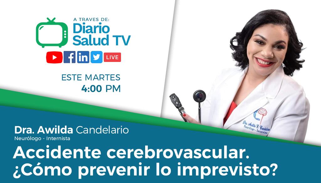 DiarioSalud TV invita a programa sobre accidente cerebrovascular